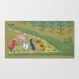 Mutual Aid Canvas Print