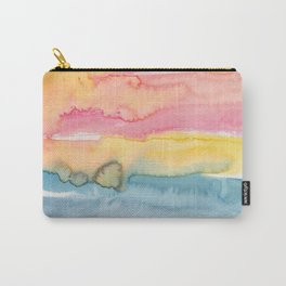 24   | 191215 | Abstract Watercolor Pattern Painting Carry-All Pouch