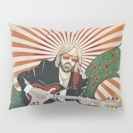 Wildflowers (Tom Petty Tribute Mural, Gainesville) // Music Rock and Roll Guitar Legendary Hall Fame Pillow Sham