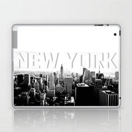 New York Black & White Sketch Laptop & iPad Skin