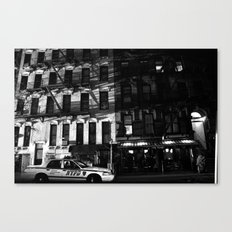 NYPD Canvas Print