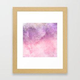 Color of paint Framed Art Print