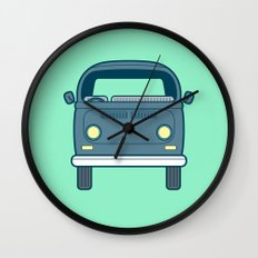 #52 Volkswagen Type 2 Bus Wall Clock