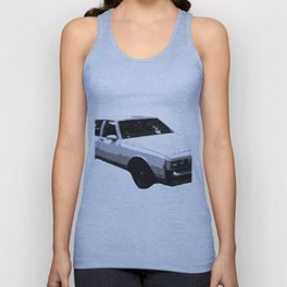 Box Chevy Pocket Unisex Tank Top