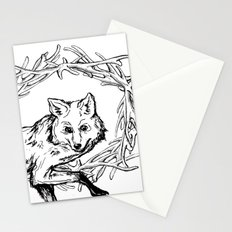 Fox King Stationery Cards