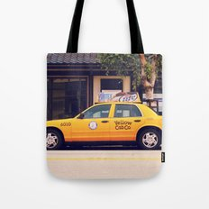 Yellow Cab Co ∫ Living Los Angeles Tote Bag