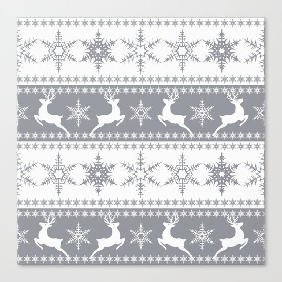 Christmas pattern . Canvas Print