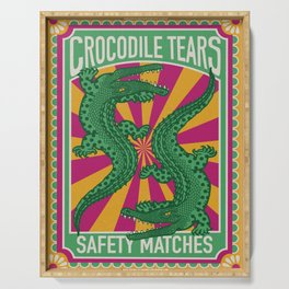 Crocodile Tears Serving Tray