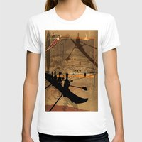 rowing T-shirts featuring Rowing by Robin Curtiss