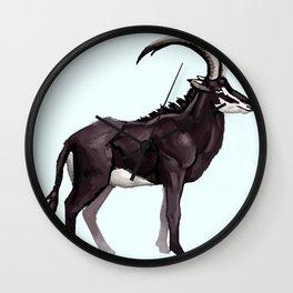 Antelope Wall Clock