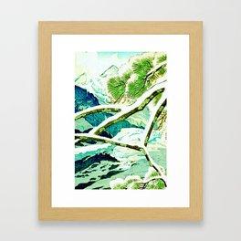 The Winter Green Framed Art Print