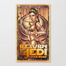 Slave Leia Canvas Print