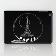 Paris in a glass ball iPad Case