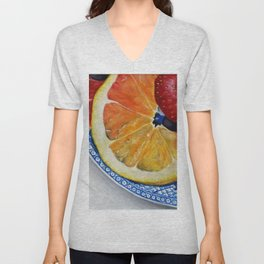Fruit Plate I Unisex V-Neck