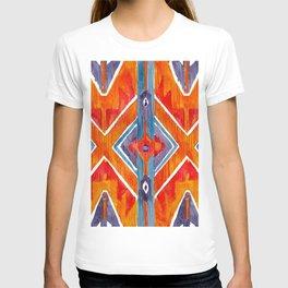 navajo ikat print T-shirt
