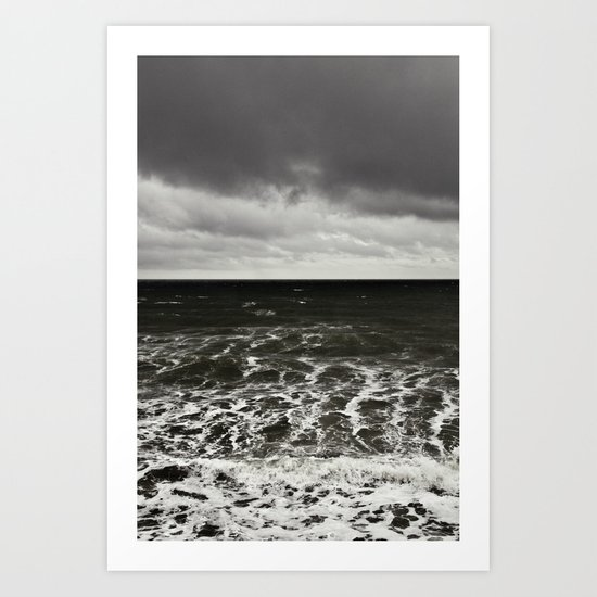 all at sea... Art Print