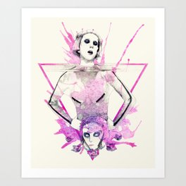 Born This Way Art Print