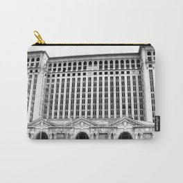 MICHIGAN CENTRAL TRAIN STATION - DETROIT Carry-All Pouch