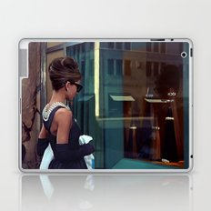 Audrey Hepburn @ Breakfast at Tiffany's Laptop & iPad Skin