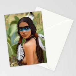 Tribu girl Stationery Cards