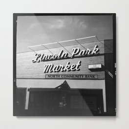 Lincoln Park Market Metal Print