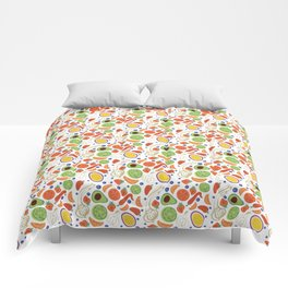 Fun Fruit and Veges Comforters