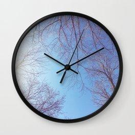 The Trees - Bright Skies Wall Clock