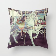 Horse of a different color! Throw Pillow