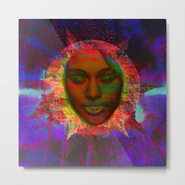 """Sun Daze"" Beautiful New Day! Rise Metal Print"