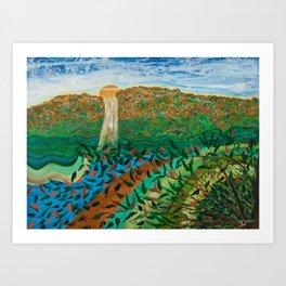 Copper Canyon Art Print