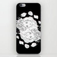mermaids iPhone & iPod Skins featuring Mermaids by viviennart