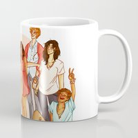 marauders Mugs featuring Marauders' Era group picture by Miho