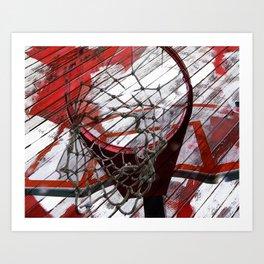 Basketball vs 82 Art Print