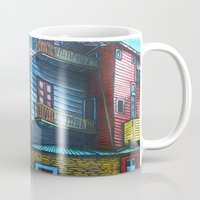 "argentina Mugs featuring ""To Argentina With Love"" by PMS Artwork"