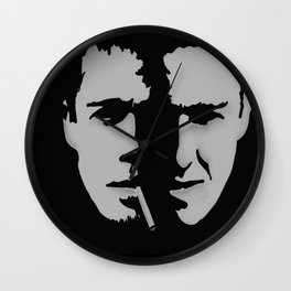 Fifth Rule: One fight at a time, fellas. Wall Clock