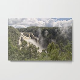 Barron Falls in Queensland Metal Print