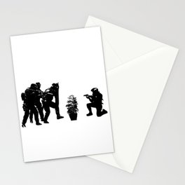 Police brutality coming up Stationery Cards