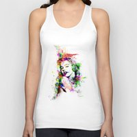 monroe Tank Tops featuring Monroe. by David