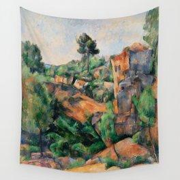 Paul Cézanne - Bibémus Quarry Wall Tapestry