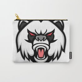 Angry Giant Panda Mascot Carry-All Pouch