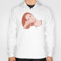 ultraviolence Hoodies featuring LANA by Itxaso Beistegui Illustrations