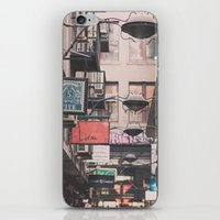 melbourne iPhone & iPod Skins featuring Melbourne Laneway by Oy Photography