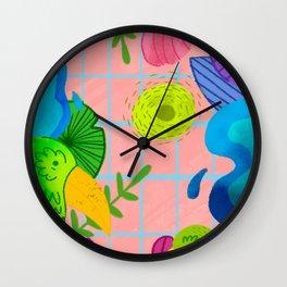 Pajarera Wall Clock