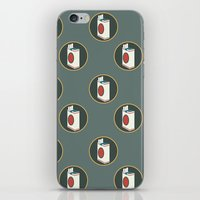 cigarette iPhone & iPod Skins featuring cigarette by Simon Khoo's Illustration