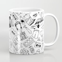 It's Always Sunny Illustration Pattern Coffee Mug