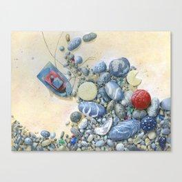 Beach Front II Canvas Print