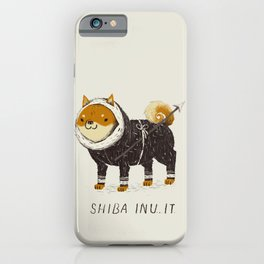 shiba inu-it iPhone Case