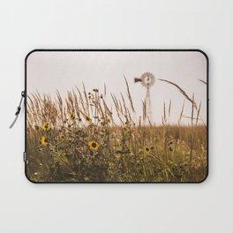 Sunflower Dreams & Windmill Memories... Laptop Sleeve