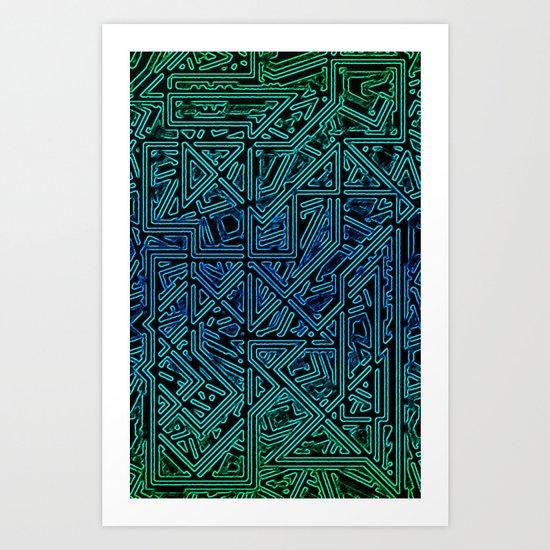 Bleen Grue Art Print