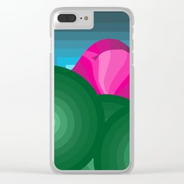 The Hills Are Breathin' Clear iPhone Case